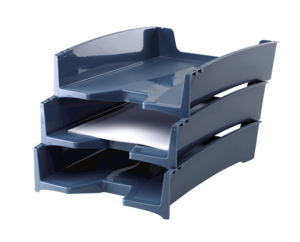 G2DESK LETTER TRAY-BLUE