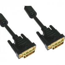 Buy 1M DVI D-DUAL LINK M-M GOLD CONNS from CABLES DIRECT