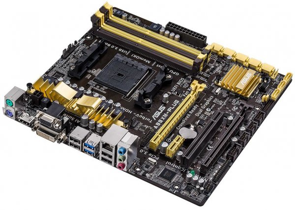 Buy Asus AMD A88X, 4 x DIMM DDR3, 8 x SATA, RAID, 10 x USB, HDMI, RJ from Asus