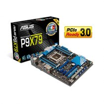 Buy Asus P9X79 Core i7 Skt 2011 DDR3 SATA3 PCIe Gb LAN USB 8Ch HD Au from Asus