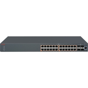 Buy Avaya 24 x 10/100/1000BASE-T, 400Mhz, 32MB Flash, 128MB DRAM, 4 from Avaya