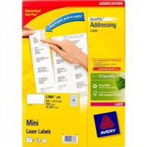 Buy Avery Mini Laser Labels L7651-250 from AVERY
