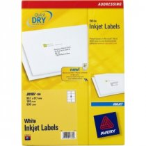 Buy Avery Quick Dry InkJet Labels J8165-100 from AVERY