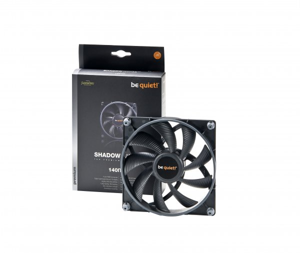 Buy Be Quiet BL027 Shadow Wings SW1 140mm PWM Case Fan from be quiet!