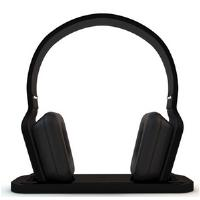 Buy BeeWi Bluetooth Stereo Headphones with Hi-Fi Docking Station (Bl from bee-wi