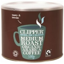 Buy Clipper Fairtrade Coffee 500g from CLIPPER