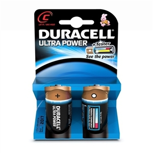 Duracell MX1400B2 - Non-Rechargeable battery 1.5V C Size Alkalin