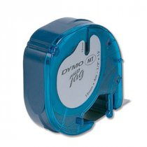 Buy DYMO 12mmx4m LetraTAG Plastic Label-Making Tapes from Dymo