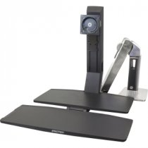 Buy Ergotron 30'' WorkFit-A, Single HD @ Worksurface+, Capacity: 11. from Ergotron