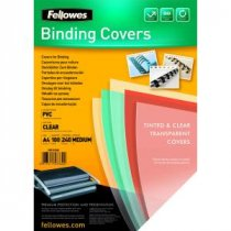 Buy Fellowes Binding Cvr Extra Clr Pk100 from Fellowes