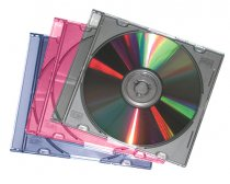 Buy Fellowes Metallic CD Jewel Cases 25 Pack/Assorted from Fellowes