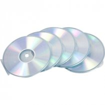 Buy Fellowes Round Slimline CD Cases Pk5 from Fellowes