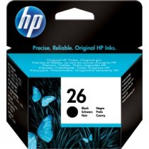 Buy HP 51626AE No 26A Black Inkjet Cartridge from HP