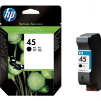 Buy HP 51645AE No.45 42ml Black Ink from HP