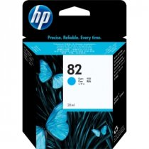 Buy HP C4911A No.82 69ml Cyan Ink from HP