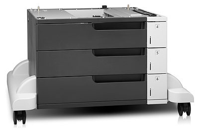 Buy HP LaserJet CF242A - 1500Sheets 3x500-sheet Feeder and Stand for from HP