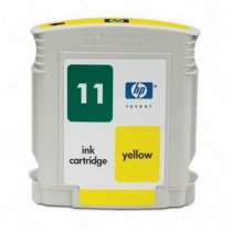 Buy HP NO.11 YELLOW INK CART 28ML from HEWLETT PACKARD