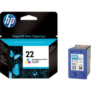 HP C9352AE No.22 5ml Colour Ink