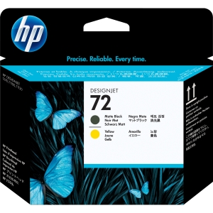 HP 72 Yellow Matte Black Printhead for HP Inkjet Printers