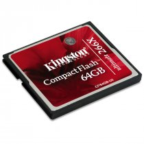 Buy Kingston CompactFlash Ultimate (64GB) Memory Card 266x With Reco from Kingston