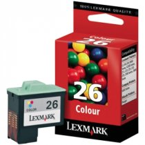 Buy Lexmark 10N0026E No.26 Colour Ink from Lexmark