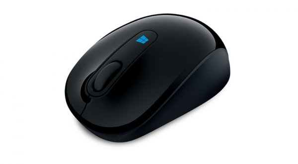 Microsoft 2.4 GHz Wireless Optical Sculpt Mobile Mouse - Black