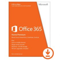 Buy Microsoft Office 365 Home Premium- 1Yr Subscription- Electronic from Microsoft