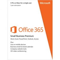 Buy Microsoft Office 365 Small Business Premium - 1Yr Subscription- from Microsoft