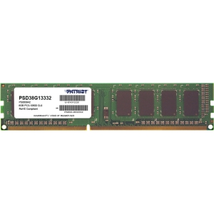 Buy Patriot 8GB 1333MHZ DIMM C9 SIGNATURE DD from Patriot