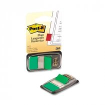 Buy Post-It Standard Index 25mm Green (Pk12) from POST-IT