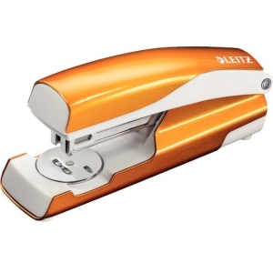 Leitz Office Stapler Metallic Orange