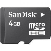 Buy Sandisck Micro SDHC 4GB Class 4 from SANDISK