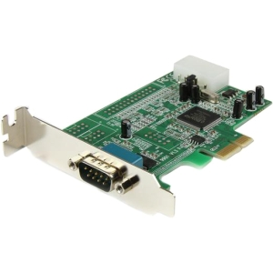 StarTech 1 Port Low Profile Native RS232 PCI Express Serial Card