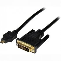 Buy StarTech 1m Micro HDMI to DVI-D Male/Male AV Cable - Black from StarTech