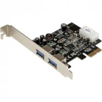 Buy StarTech 2 Port PCI Express (PCIe) SuperSpeed USB 3.0 Card Adapt from StarTech