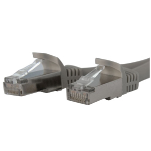 Buy StarTech 3.05m Cat6a Shielded STP Patch Cable - Grey from StarTech