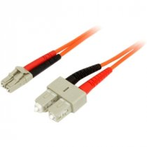 Buy StarTech 3m Duplex MM Fiber Optic Cable LC-SC - Orange from StarTech