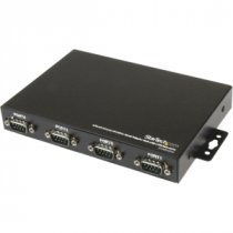 Buy StarTech 4 Port Wall Mountable USB to Serial Adapter Hub with CO from StarTech