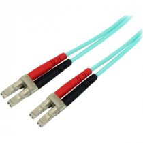 Buy StarTech 5m 10Gb Aqua Multimode 50/125 Duplex LSZH Fiber Patch C from StarTech