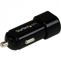 Buy StarTech.com Dual Port USB Car Charger High Power (17 Watt / 3.4 from StarTech.com