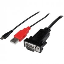Buy StarTech.com Micro USB to RS232 DB9 Serial Adapter Cable for And from StarTech.com