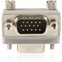 Buy StarTech Right Angle VGA Male to Female Type 2 Cable Adapter from StarTech