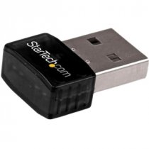Buy StarTech - Wireless USB Adapter 300Mbps 2.4GHz - Black from StarTech