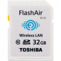 Buy Toshiba 32GB SD Class 10 WiFi Flash Memory from Toshiba