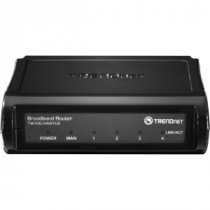 Buy TRENDnet TW100-S4W1CA - 5 Ports Fast Ethernet Broadband Router from Trendnet International