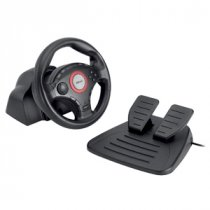 Buy Trust GM-3200 Compact Vibration Feedback Steering Wheel For PC / from Trust
