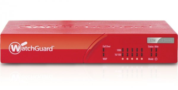 WatchGuard XTM 26 + 3Y Email Security - 540 Mbps, 5 RJ-45, USB,