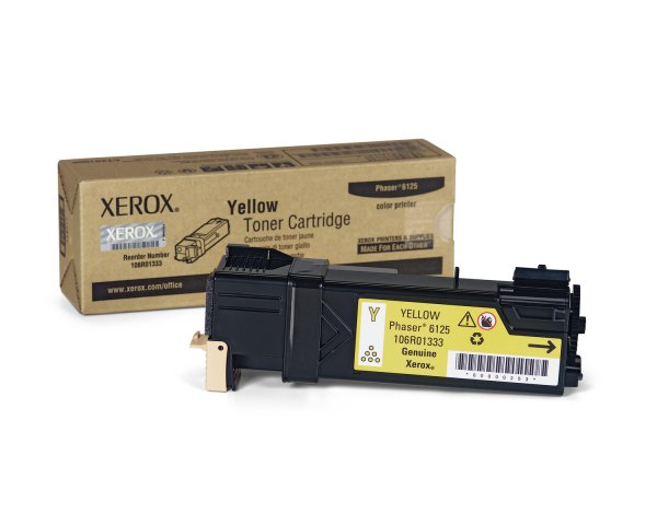 Buy Xerox 106R01333 1k Yellow Toner from XEROX