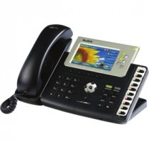 Buy Yealink T38GN Executive IP Phone with PoE and Colour Screen - HD from Yealink